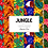 Thumbnail: Jungle Digital paper - tropical pattern Digital paper set