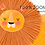 Thumbnail: Safari Clipart, cute lion clipart - Africa friends, giraffe - elephant clipart -