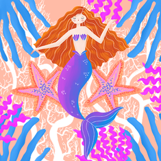 Ginger Mermaid