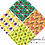 Thumbnail: Fruits Digital paper - Cute fruits Kawaii, Food paper, strawberry, apple, fruit