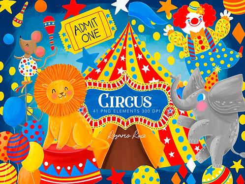Circus clipart, Carnival Clip Art, Circus Graphics, Big Top clipart, Carnival