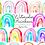 Thumbnail: Watercolor rainbow clip art, watercolor clipart, watercolor rainbow