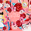 Thumbnail: Alice in wonderland  Heart Queen  Clipart, roses, cards