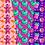 Thumbnail: Halloween Sweets Digital paper - pattern Halloween - Candy Halloween Paper