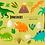 Thumbnail: Dinosaur Clipart, Cute Dinos Clipart, T-rex, Triceratops, Brontosaurus