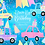 Thumbnail: Car pastel clipart - Drive-by Birthday Party parade clipart rainbow, girl & boy