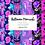 Thumbnail: Halloween Mermaids Digital paper - pattern Halloween - Pink Halloween Paper
