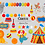 Thumbnail: Circus clipart, Carnival Clip Art, Circus Graphics, Big Top clipart, Carnival