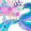 Thumbnail: Mermaid Clipart tails - Mermaid Glitter clipart - Mermaid crowns princess