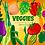Thumbnail: Cute Vegetables Clipart Set - Veggies, Food Clipart, Health, Vegetable Art