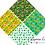 Thumbnail: St patrick's digital paper, leprechaun cat paper, clover clipart, rainbow