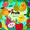 Thumbnail: Fruits Clipart - Cute fruits Kawaii, Food Clipart, strawberry, apple
