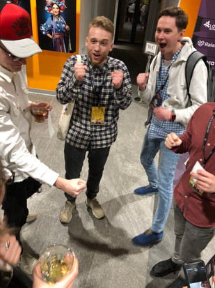 Right after Winning new PS4 @ JavaDay Lviv 2020