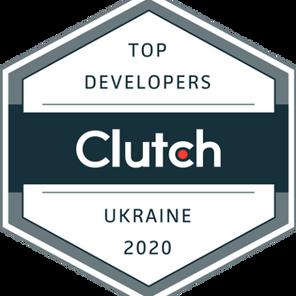 Top Development Partner in Ukraine by Clutch!