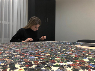 Solving puzzles