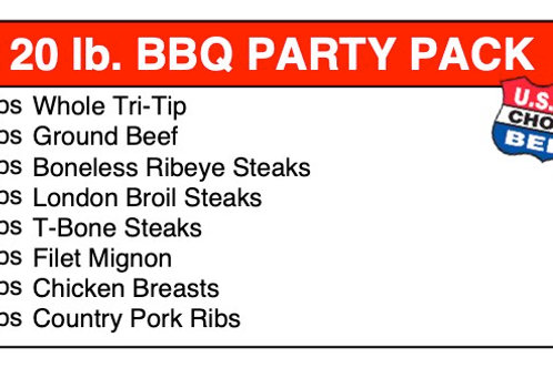 20 BBQ Party Pack