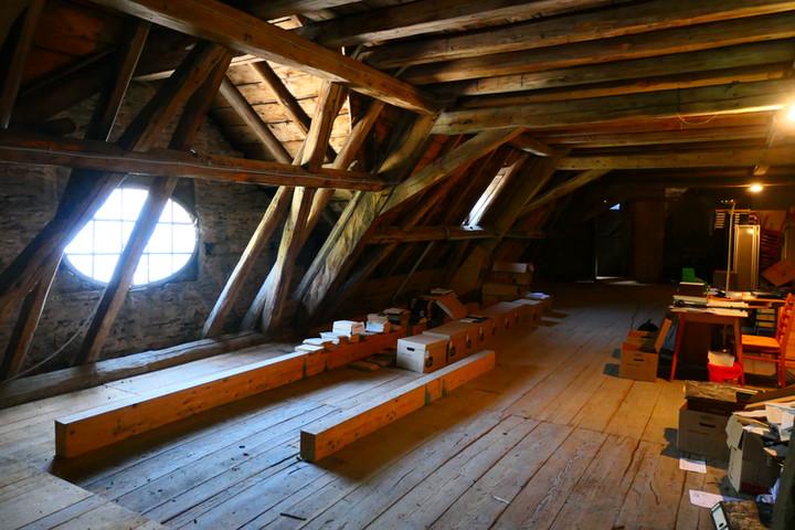 Dachstuhl des Abtsgebäude