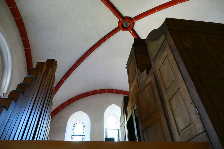 Die alte Stumm-Orgel
