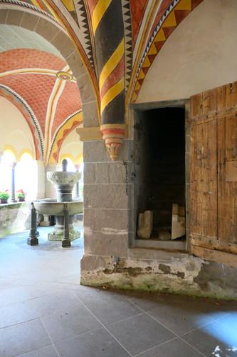 Aufgang zur alten Bibliothek