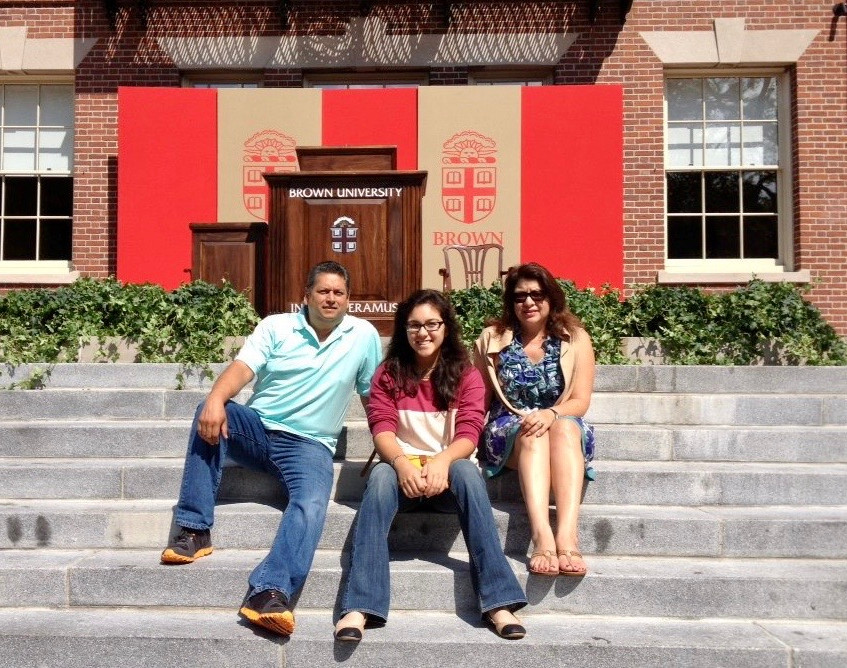 With My Parents