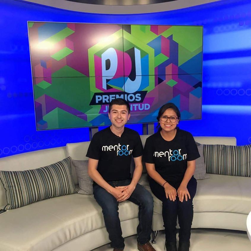 Univision Premios Juventud interview