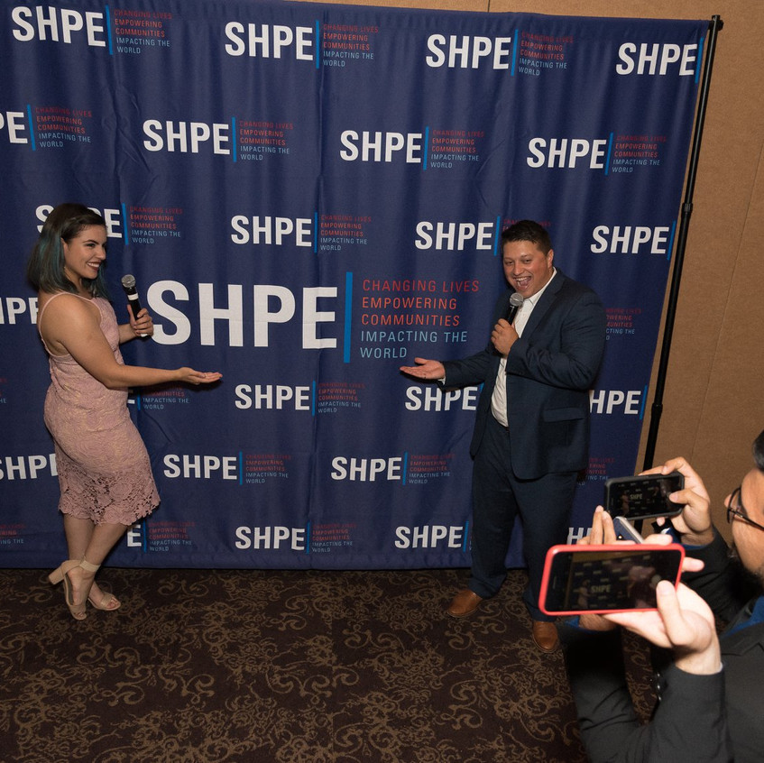 Thank you, SHPE