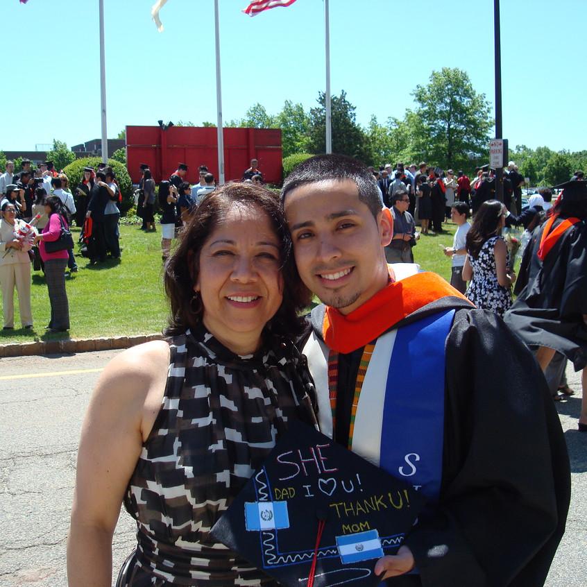 Rutgers Graduation with Mom