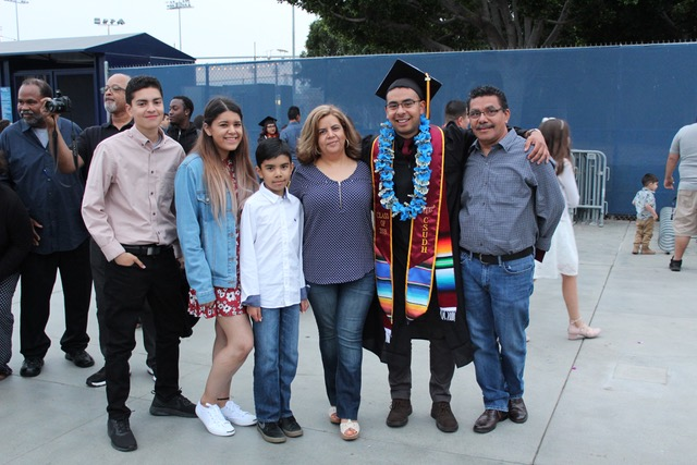 Familia on Graduation