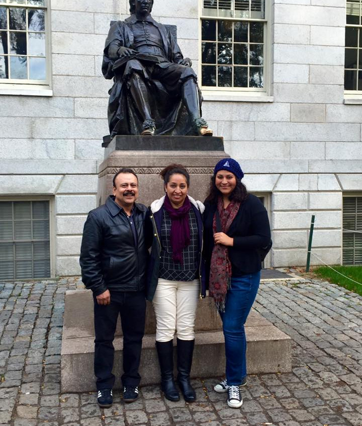 With My Parents at Harvard