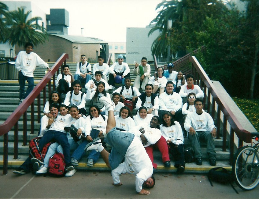 Mesa in HS (2nd Row Left Side)