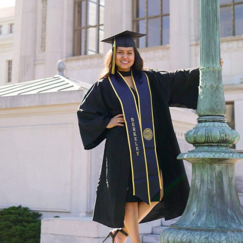Graduating Berkeley