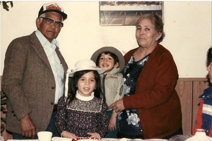 Paternal grandparents from Mexico