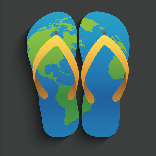 Footprints All Over The World - Lucy Arellano, 21