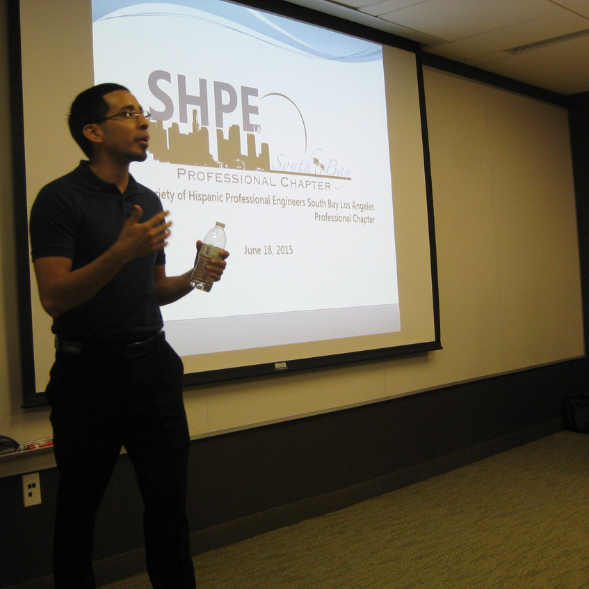 Presenting for SHPE