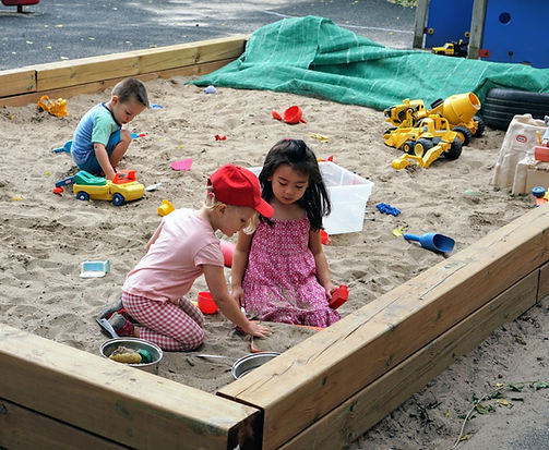 Children in the sandbox