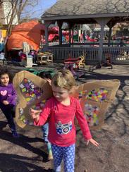 Creativity is flying around Thistleoaks!