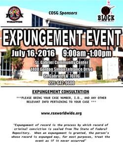 Expungement Event