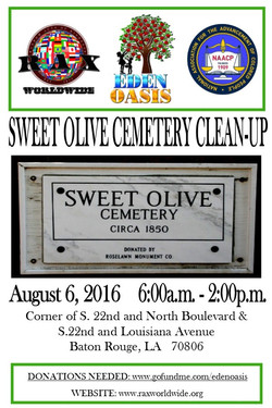 Sweet Olive Cemetery Clean-Up