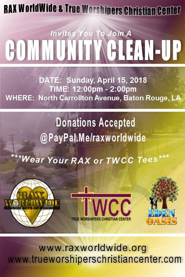 Community Clean Up - April 2018