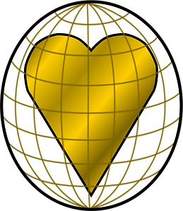 RAX Worldwide Golden Heart Globe