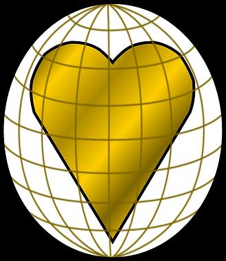 RAX Heart of Gold Globe