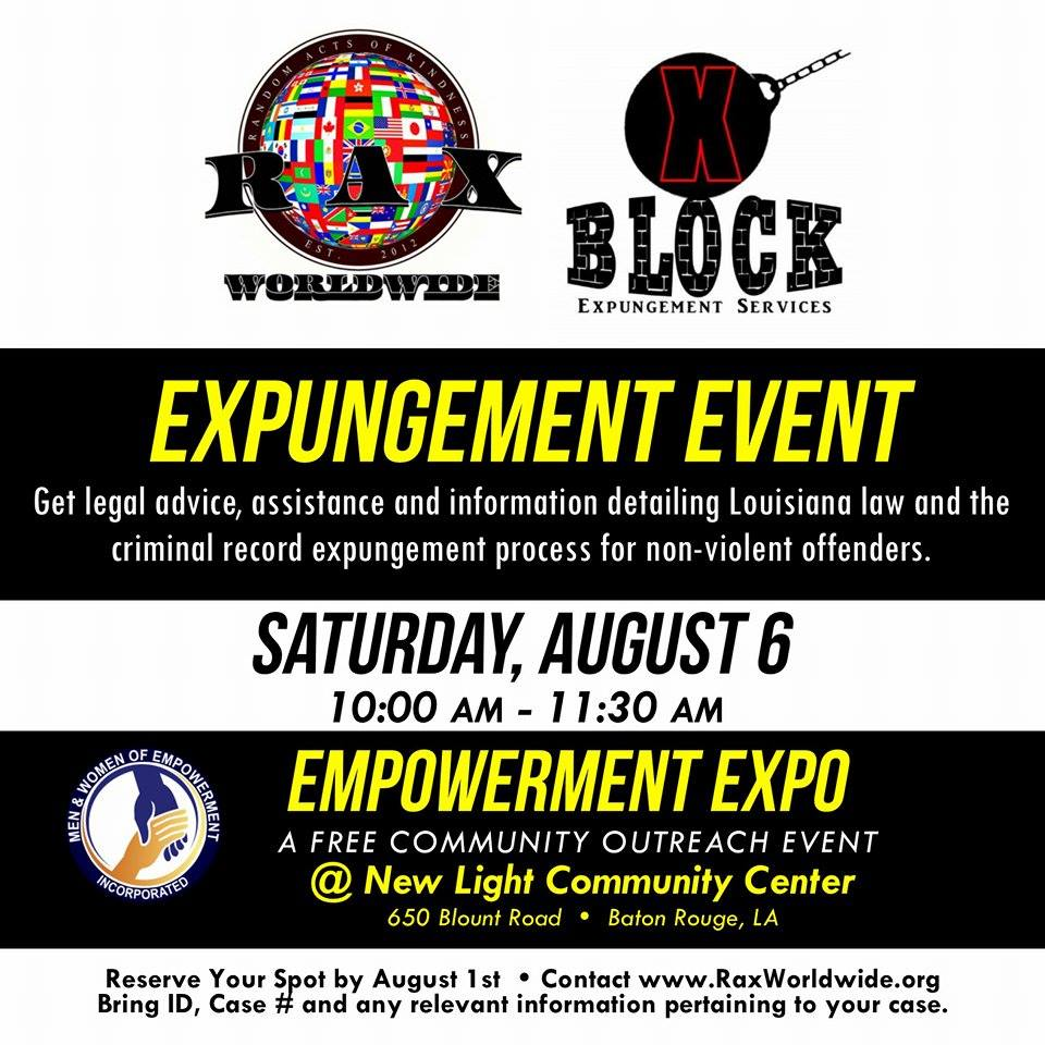 Expungement Event and Empowerment E.X.P.O.