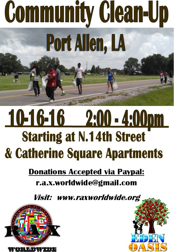 Port Allen Community Clean-Up