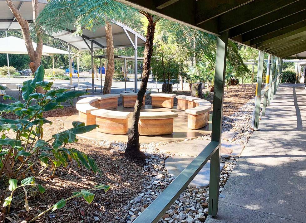 Bouddi Landscaping Yarning Circle