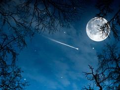 Petit récit d'une méditation de pleine lune .