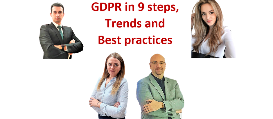 GDPR in 9 steps, news, trends, and best practices for 2022