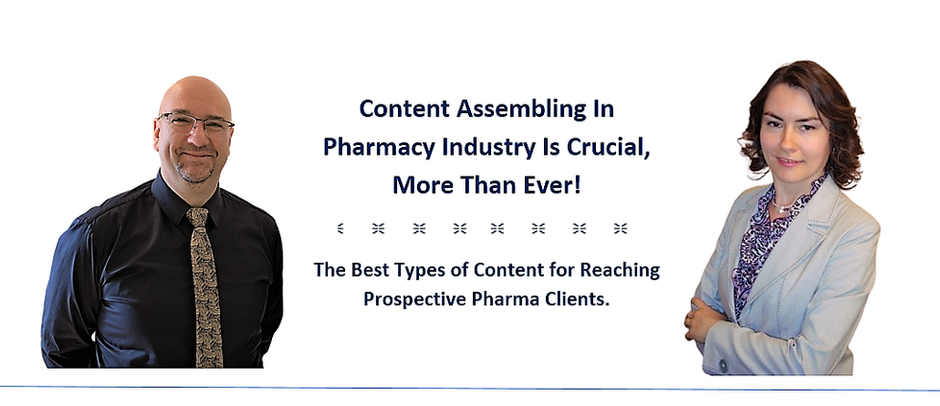 Content Assembling In Pharmacy Industry Is Crucial Nowadays, More Than Ever!