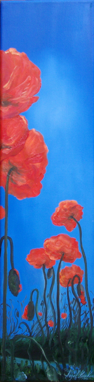 THE PEACEFUL NARRATION OF A POPPY