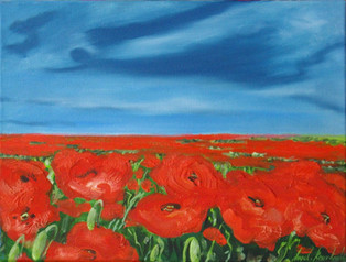 THE PEACEFUL NARRATION OF A POPPY, 18