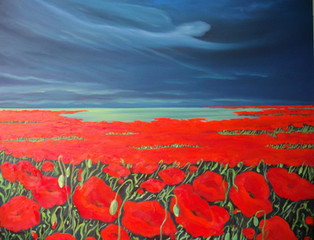 THE PEACEFUL NARRATION OF A POPPY I